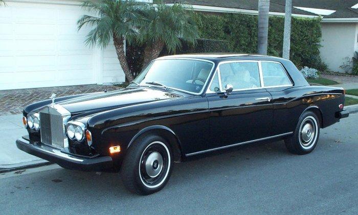 Rolls Royce Corniche 2d Saloon