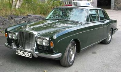 The first Corniche 2-doors saloon is the CRH9770 (a Rolls-Royce). The first Bentley Corniche 2-doors saloon is the CBH10420. The Bentley on this page is the ... & Bentley T MPW 2 door saloon