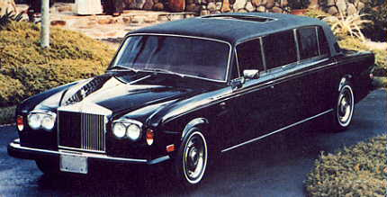 Rolls-Royce Silver Shadow II Stretched limousine