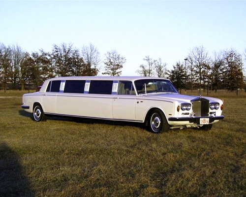 Rolls Royce Silver Shadow Stretched Limousine