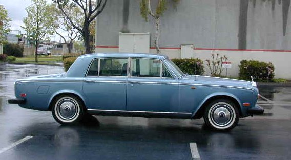 Rolls-Royce Silver Shadow from 1974.